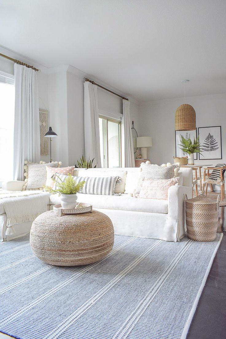 Summer Your Home Living Room Tour | ZDesign At Home