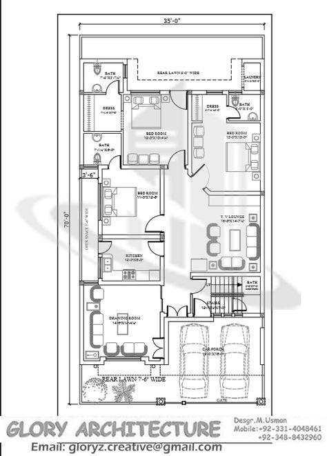 42 Trendy House Design Plans Pakistan
