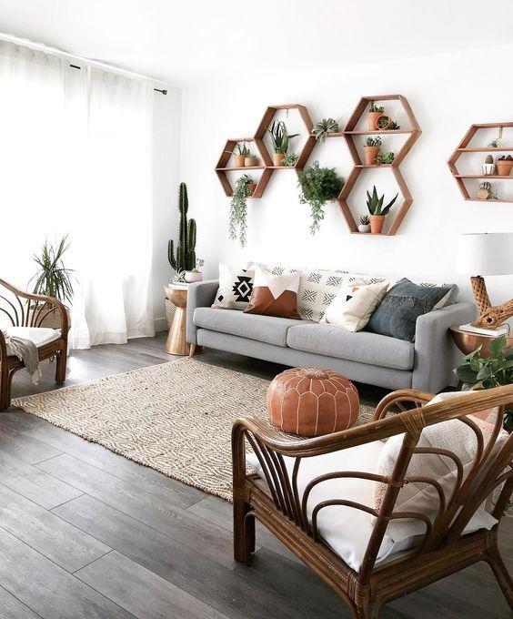 We've Spent All Day Dreaming About These 8 Living Room Wall Decor Ideas (Don't Judge) | Hunker