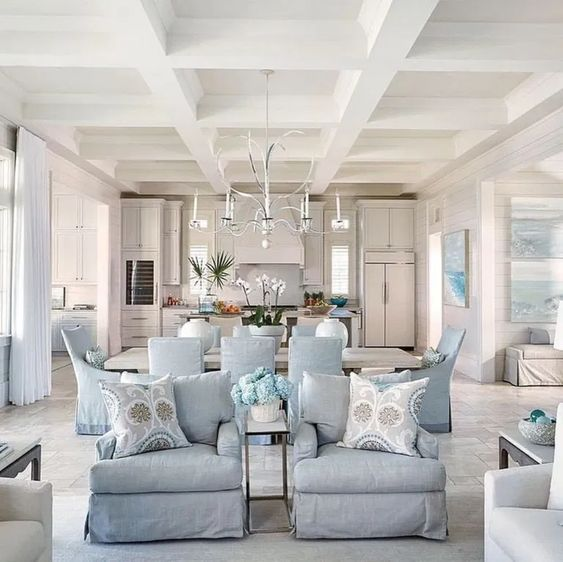 How To Arrange Furniture In An Open Concept Kitchen, Dining and Living Room Floor Plan – furniture layout ideas. ment