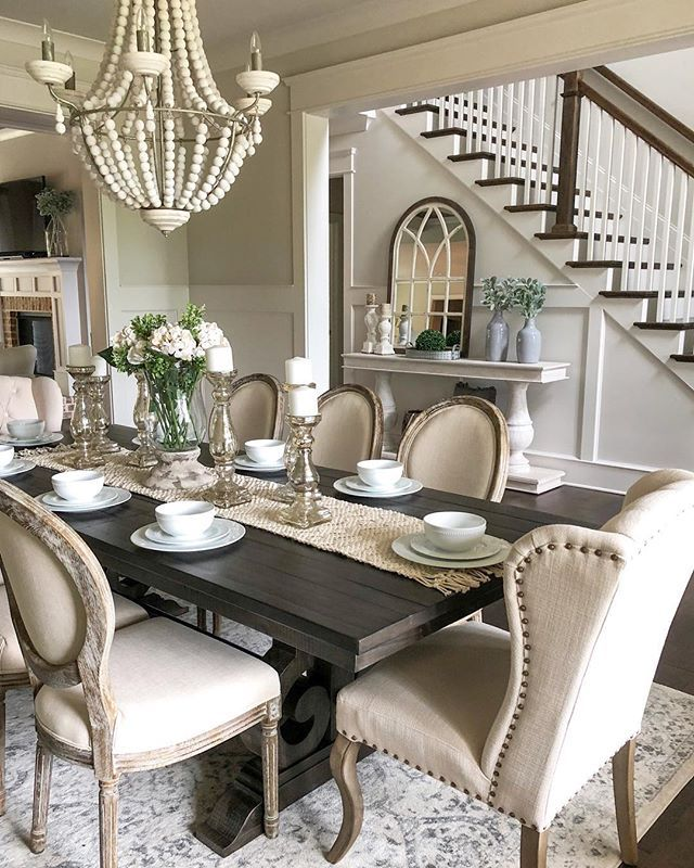 Thanks to everyone that voted on the dining chairs in my stories! I went with the popular vote and I love them in this room! We've already enjoyed eating in…