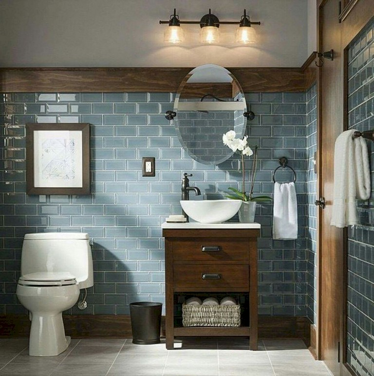75+ Amazing Bathroom in Blue Remodel Ideas ideas