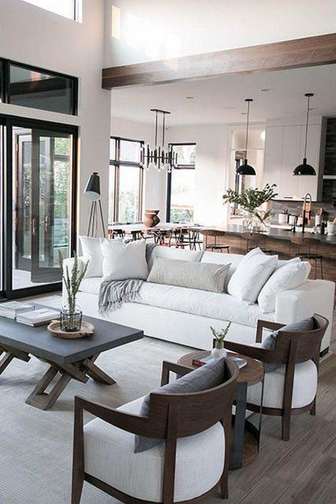 Modern Neutral Living Room Design