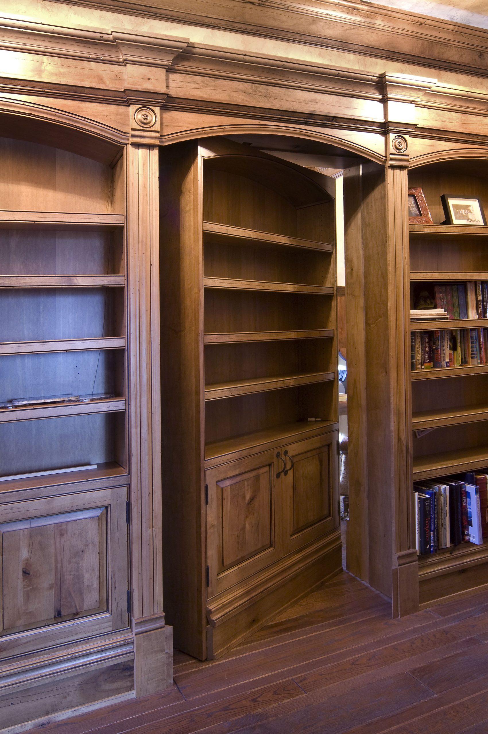 Hidden Passage Bookcase