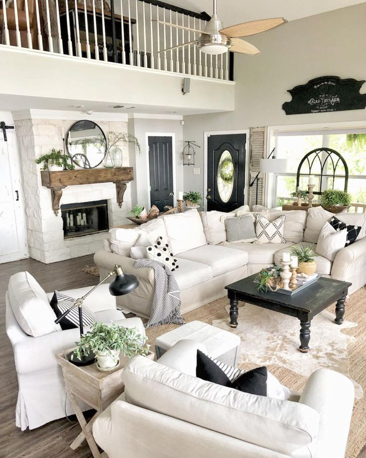 Living Room Inspiration & Ideas For A Sectional Couch – SwankyDen.com