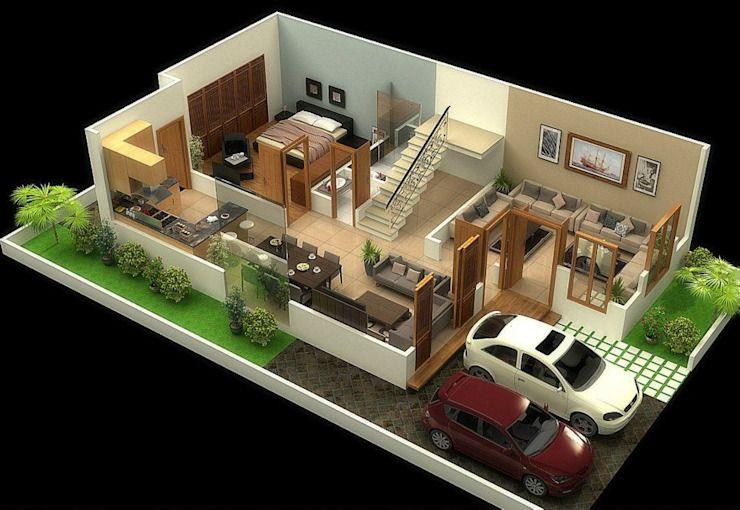 Simple Home Design 4 Bedroom