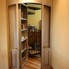 Murphy Door – Fully Assembled Bookcase Door with Hardware, Jamb and trim Included. To make that hidden room you always wanted!