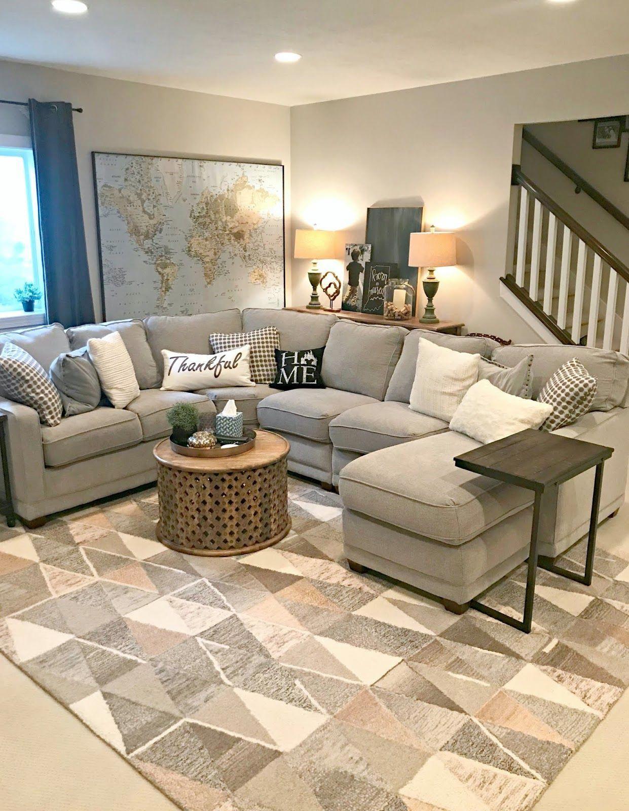 basement bedroom living room combo