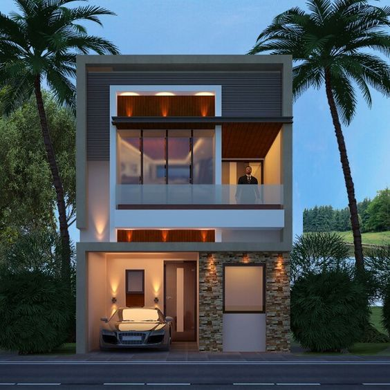 50 Small Two-storey House Designs That Can Be Fitted In Small Lot Area