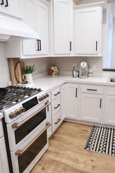 We love GE's new cafe line in matte white for our kitchen appliances. They were our major splurge during the new construction process, and we couldn't be happier with how…