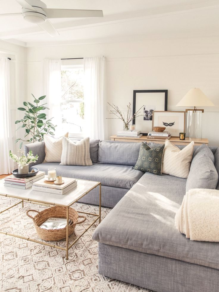 It's finally here! I am so excited to share the after photos of painting my living room. I shared the process on my Instagram stories, but I got so many…