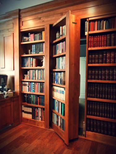 Hidden Bookcase Doors – Secure & Custom – High Tech Secret Bookcases
