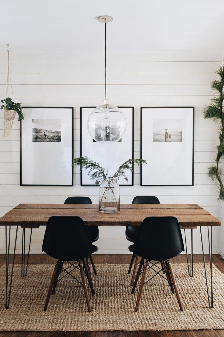 Mountainside Home – look how nice photos look printed in this dining room