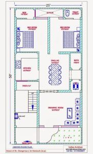 Popular Homely Design 13 Duplex House Plans For 30X50 Site East Facing House Map Design 25*50 Ground Floor Photo – House Floor Plan Ideas