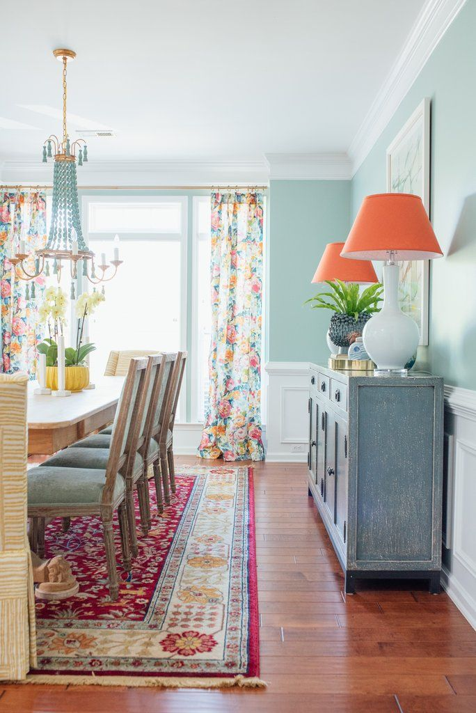Traditional Dining Room with a Twist – Amanda Louise Interiors