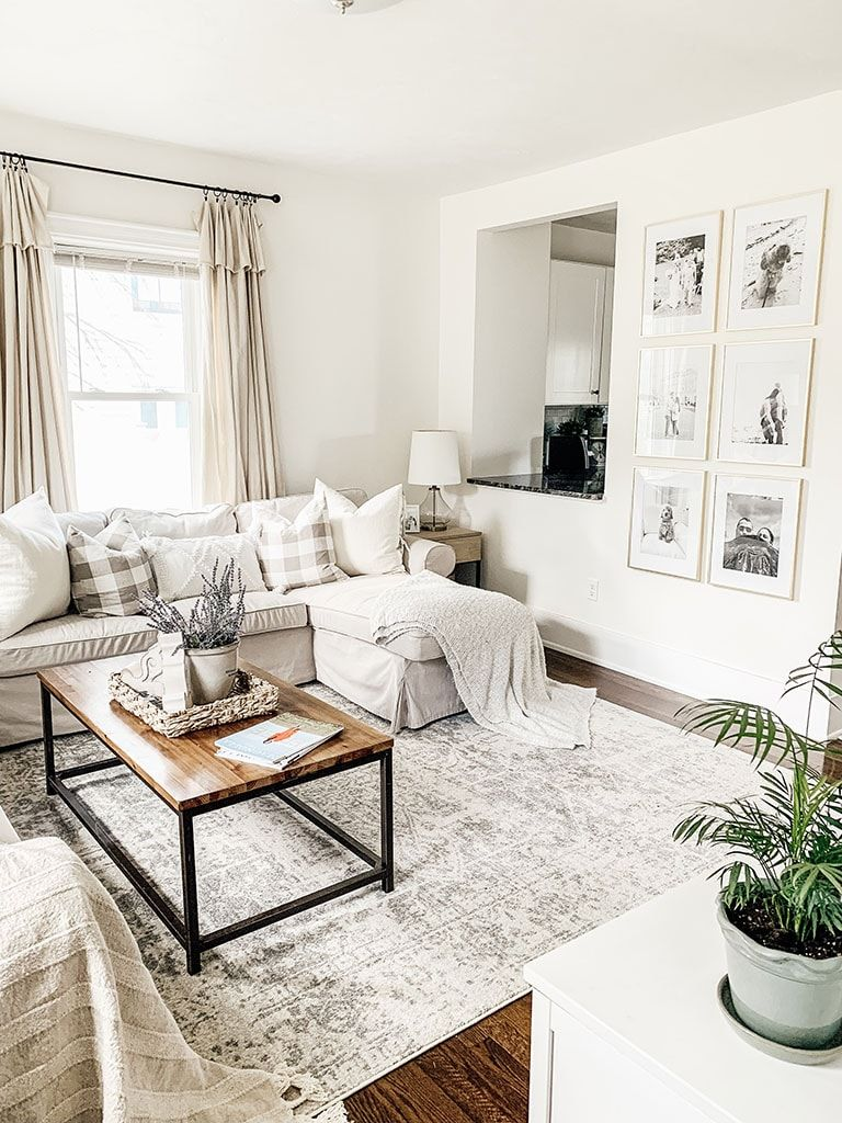 An honest review of the popular Harput 1024 rug from Boutique Rugs.com. Come see how I styled it in my summer living room. Neutral Rugs | Affordable Farmhouse Rug |