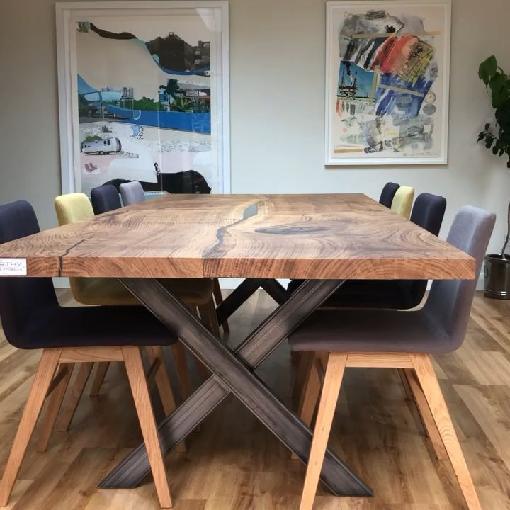 English Oak Dining Table by Earthy Timber UK