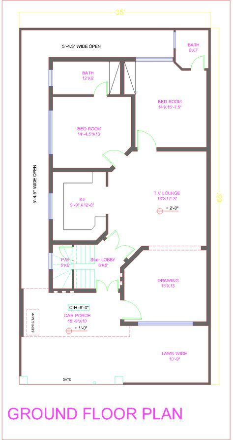 42 Trendy House Design Plans Pakistan