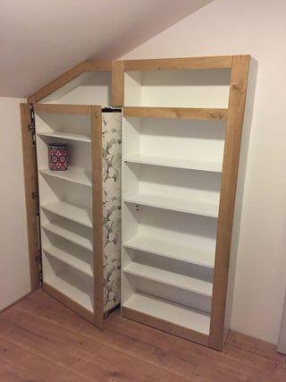 Hidden Room, Bookcase Door, Secret Room, Hidden Door, Safe Room, Hidden Bookshelf Door, Panic Room, Hiding Place: 5 Steps (with Pictures)