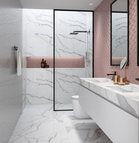Create Something Marbleous – Amazing Marble Bathrooms: Classic and elegant, marble is always a good choice when it comes to bathroom decor. Check these design ideas below and start with…