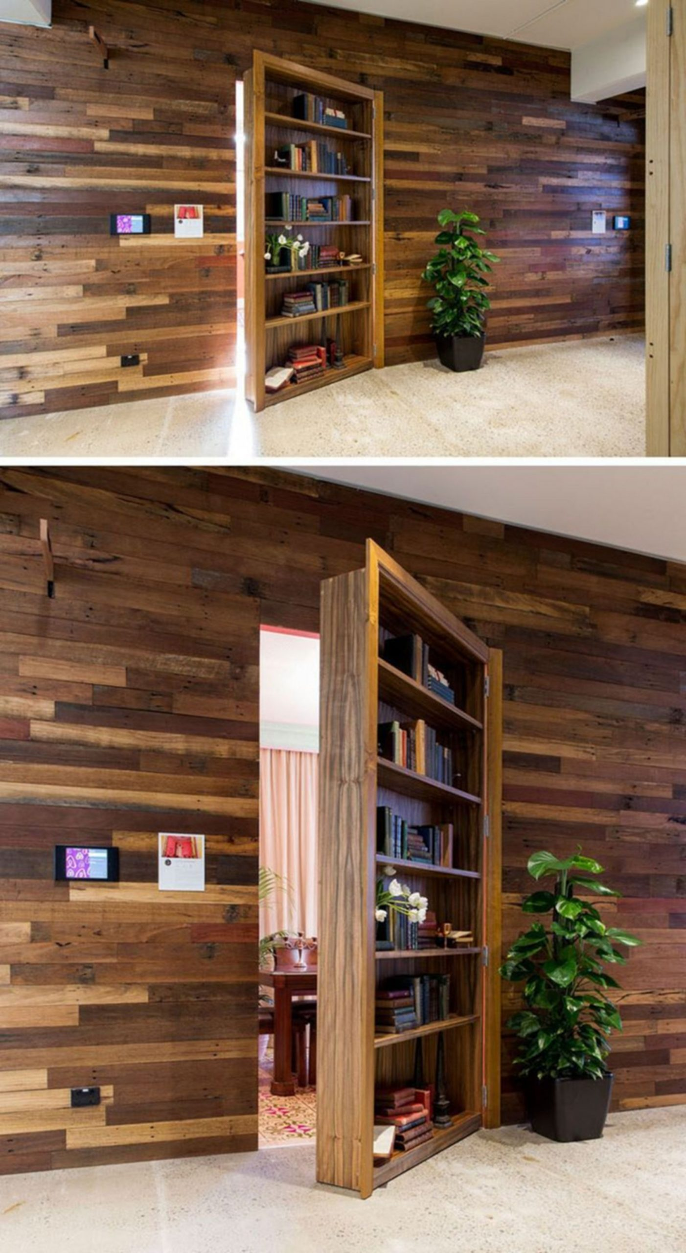 14 Interesting Secret Room Design Ideas With Hidden Doors – MOOLTON