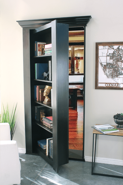Bookcase Secret Door – Hidden Door Store – Sophisticated Hidden Bookcases & Secret Mirrors