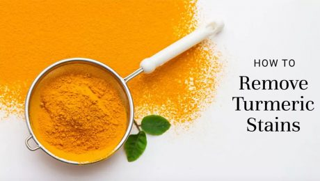 How to Remove Turmeric Stains in the Home