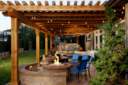 Defined Outdoor Living Spaces