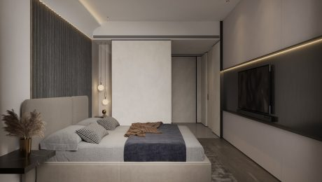 Unique-Home-Interiors-Cased-With-Sleek-Modern-Wall-Panelling